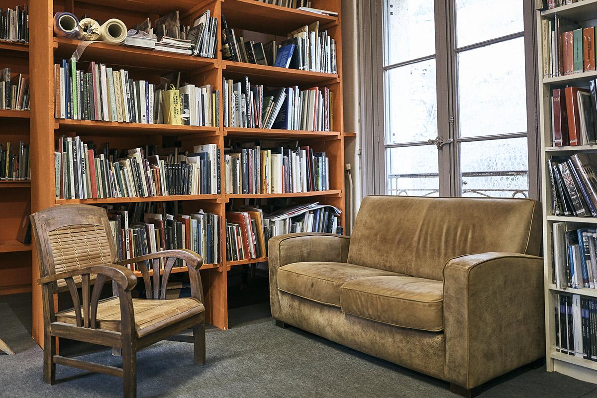 La Bibliothèque de la Maison de l'Image Documentaire